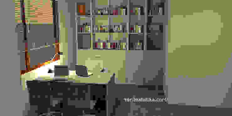 Loft Familiar Anexos de estilo minimalista de Minimalistika.com Minimalista Aglomerado