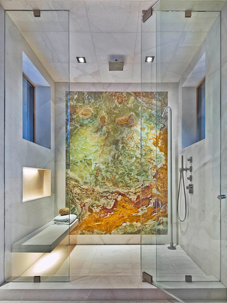 Canalmarmi e Graniti snc Salle de bain classique Marbre