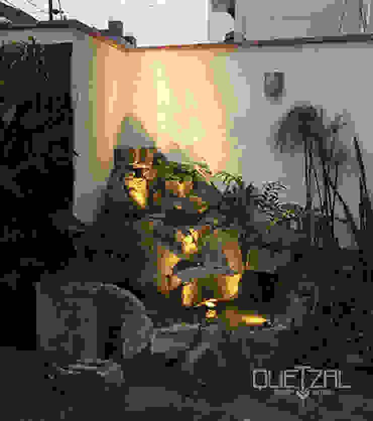 Iluminación de ambientes de Quetzal Jardines