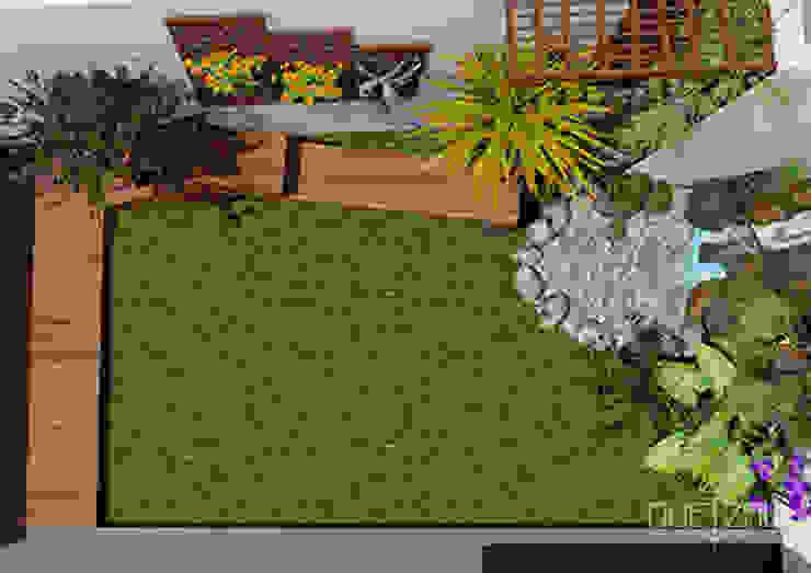 Diseño 3D. Paisajismo de Quetzal Jardines