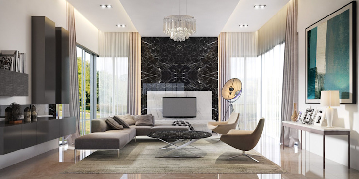 Furniture Design: Modern Living Room Furniture de Marketing Moderno