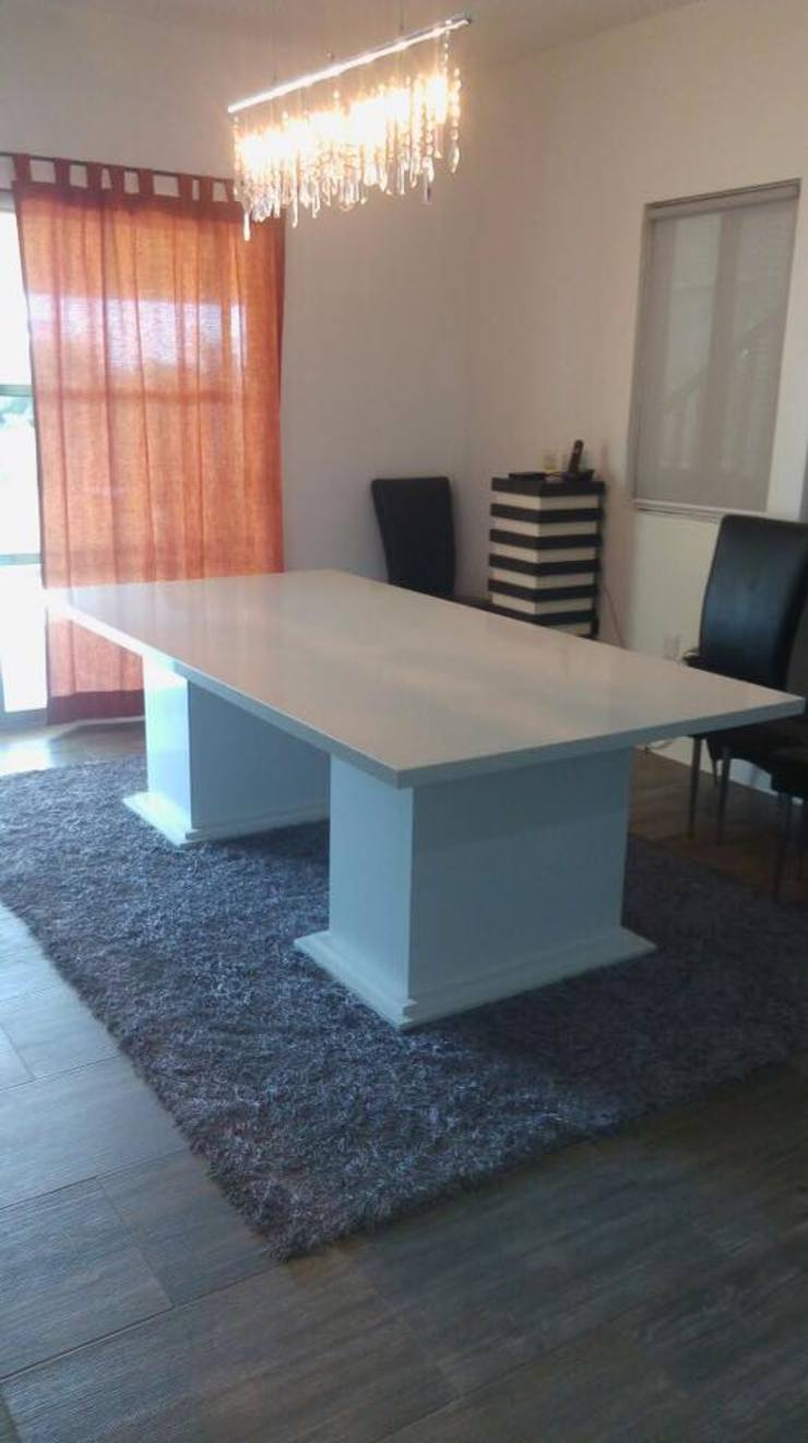MESA PARA COMEDOR RESIDENCIAL BAY VIEW GRAND by MARMOLES ...