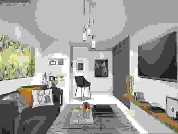 Modern living room by Gaby Cons Deco & Handmade Modern