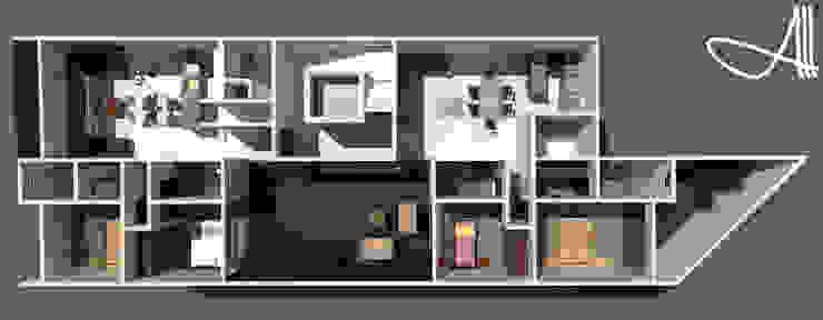 minimalist  by Andrey Arredondo Arquitecto, Minimalist