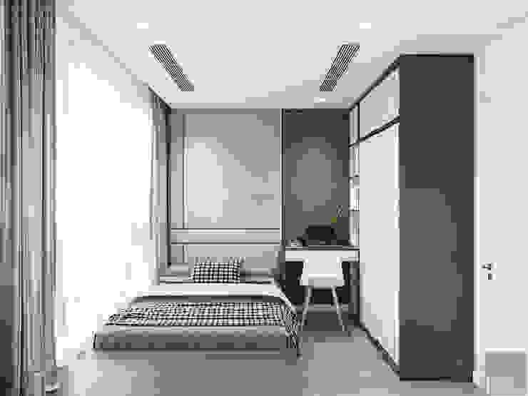 Sang trọng đẳng cấp với nội thất mạ Titan trong căn hộ Vinhomes Golden River Phòng trẻ em phong cách hiện đại bởi ICON INTERIOR Hiện đại