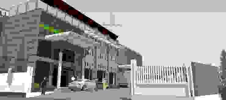 รูปตัวอย่างงานตกแต่งภายนอกอาคาร โดย สตูดิโอ เอส จำกัด อินดัสเตรียล เหล็ก