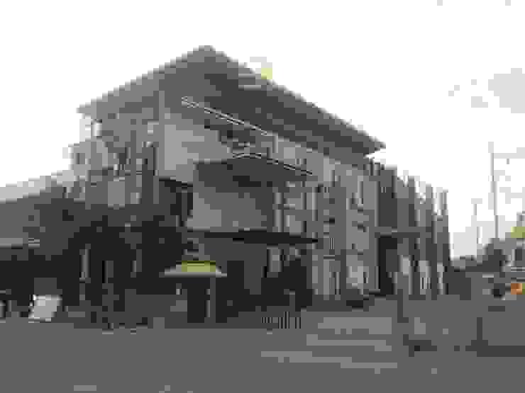 รูปงานตกแต่งภายนอกอาคาร โดย สตูดิโอ เอส จำกัด อินดัสเตรียล เหล็ก