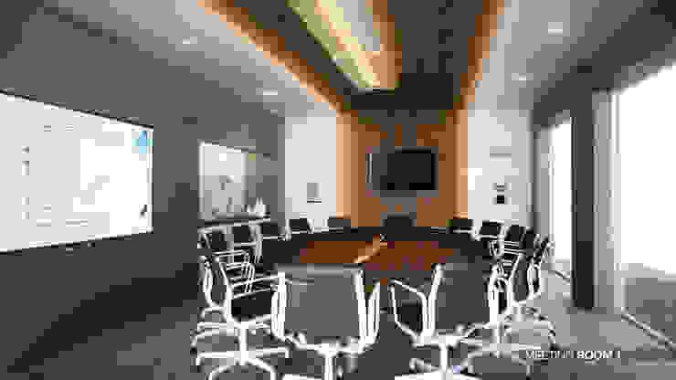 รูปตัวอย่างห้องประชุมใหญ่: ด้านอุตสาหกรรม  โดย สตูดิโอ เอส จำกัด, อินดัสเตรียล