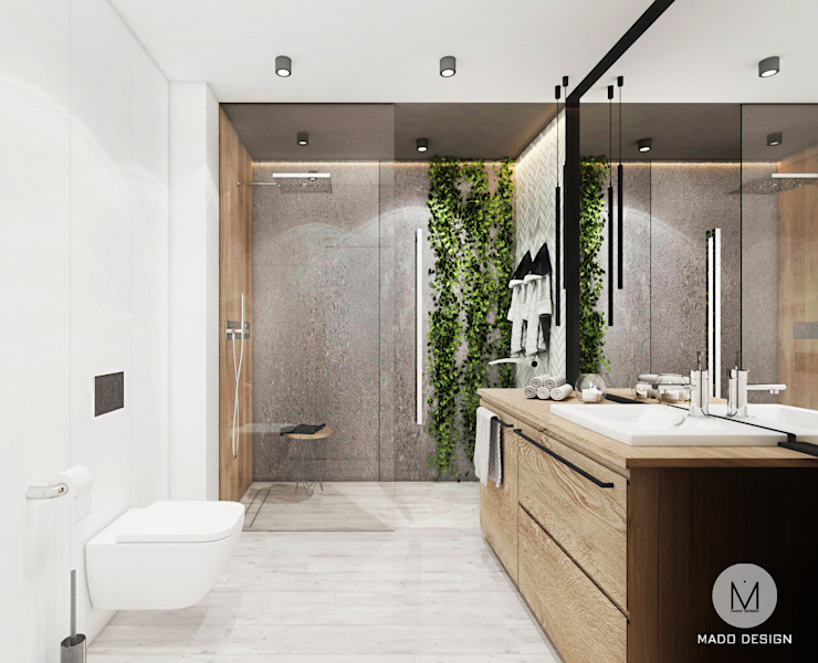 MADO DESIGN Industrial style bathroom