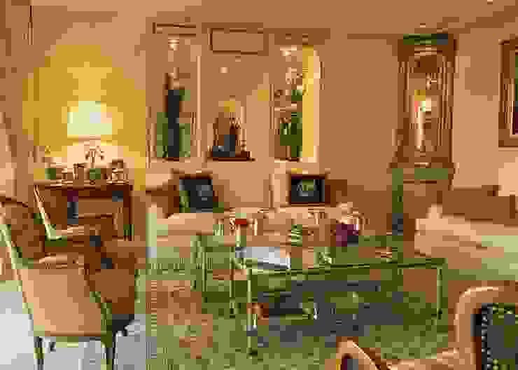 Sala de estar homify Salas de jantar clássicas