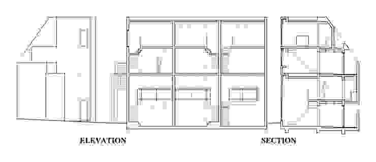 Residence LILAS: SOCIUS一級建築士事務所が手掛けた現代のです。,モダン