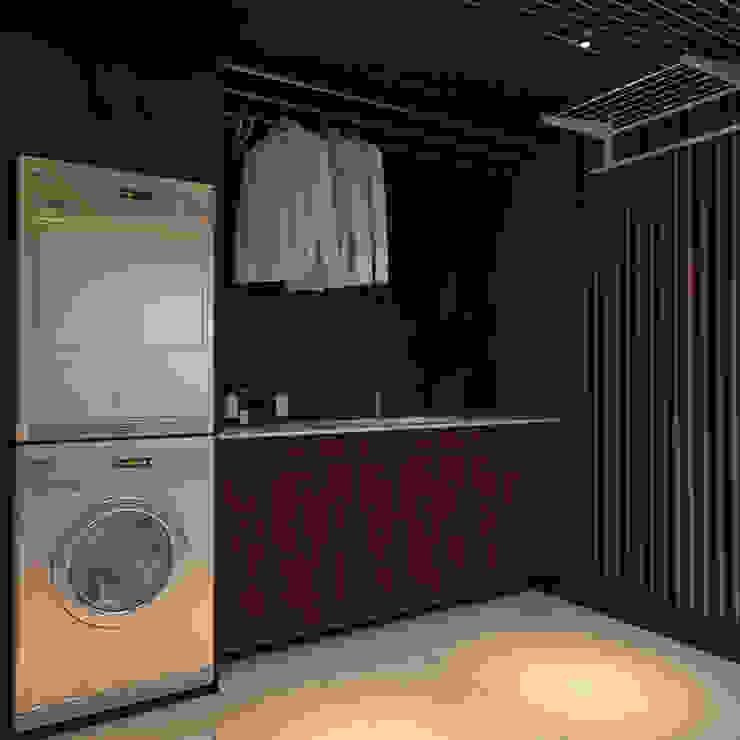 Baños de estilo ecléctico de студия Design3F Ecléctico