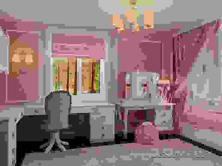 Klassische Kinderzimmer von студия Design3F Klassisch