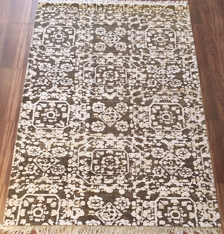 Hand Knotted Persian Carpet: classic  by Capital Carpet Company,Classic Wool Orange