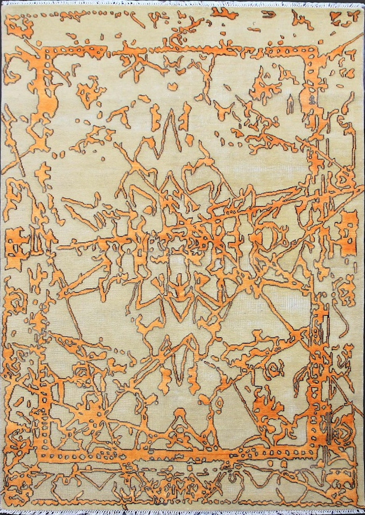 Hand Knotted Carpet: modern  by Capital Carpet Company,Modern