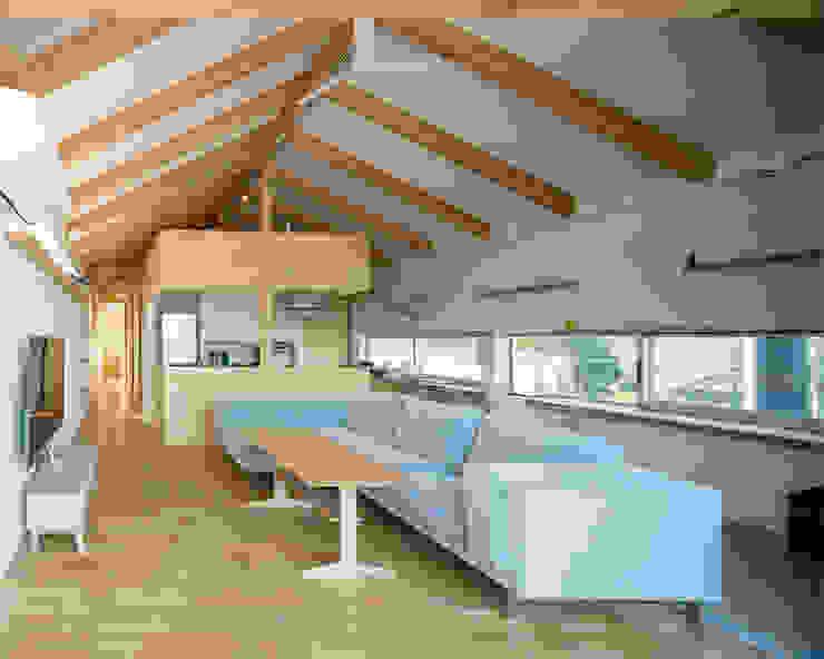 โดย 伊藤憲吾建築設計事務所 โมเดิร์น แผ่นไม้อัด Plywood