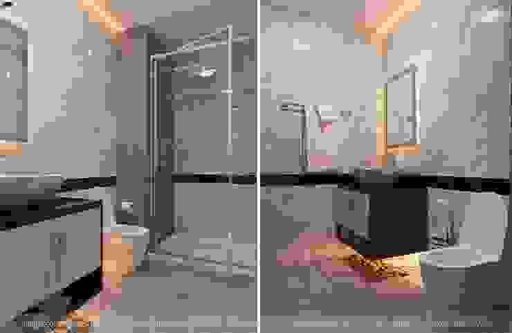 Phòng tắm Phòng tắm phong cách hiện đại bởi homify Hiện đại