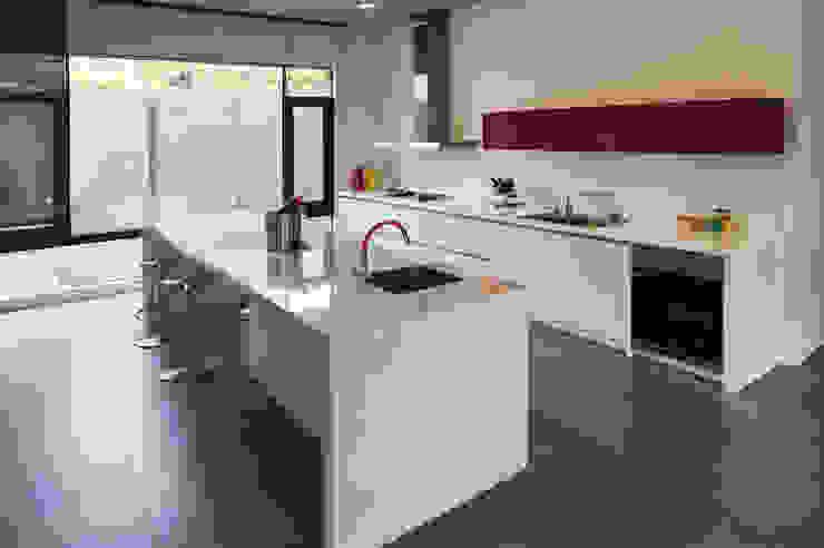 廚房 by 黃耀德建築師事務所 Adermark Design Studio Minimalist