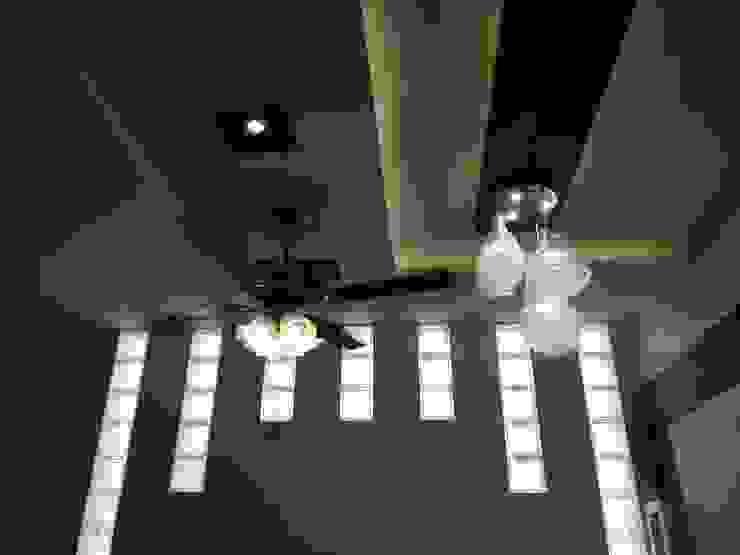 Designer Wood and Gypsum False Ceiling: modern  by Interiorwalaa,Modern Plywood