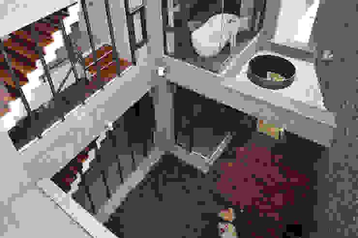 Jardines de estilo  por 黃耀德建築師事務所  Adermark Design Studio,
