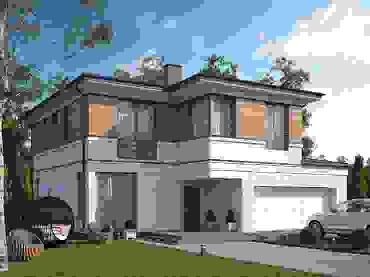 Барроу_218 кв.м. Дома в стиле минимализм от Vesco Construction Минимализм