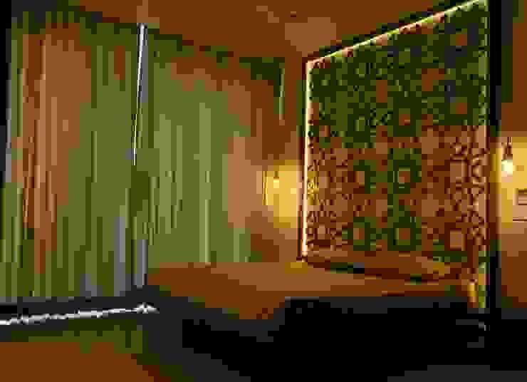 Apartment interiors- MRCNagar, Chennai Modern Bedroom by Synergy Architecture and Interiors Modern