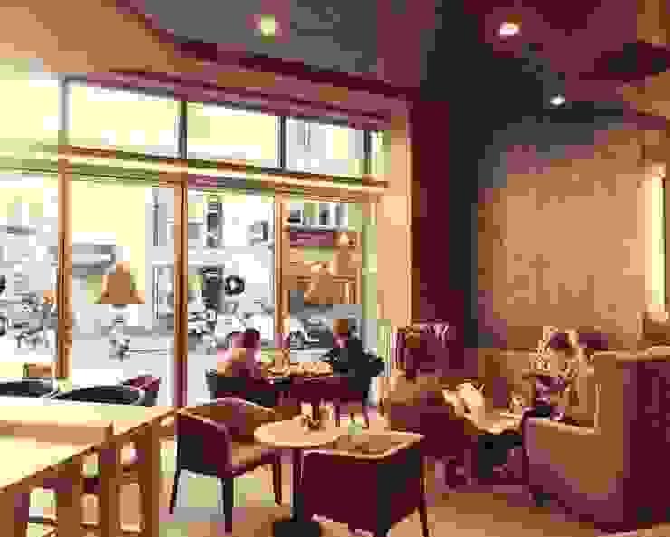 VIENNA FLAGSHIP COFFEE SHOP: Bares y Clubs de estilo  de Studioapart interioristas en Barcelona