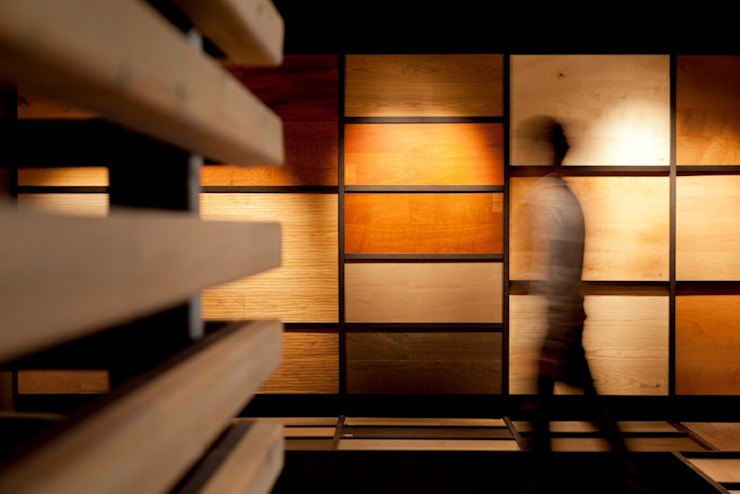 Showroom for wood flooring products in Masnou, Barcelona. Studioapart Interior & Product design Barcelona Commercial Spaces