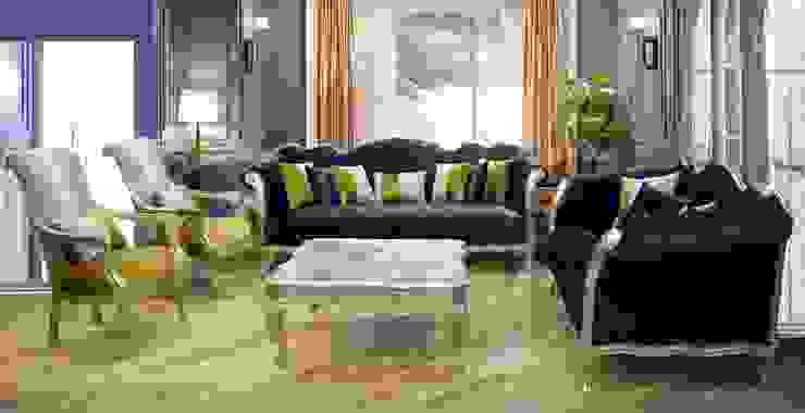 طقم سندى غرفة معيشة - غرفة جلوس: حديث  تنفيذ أثاث لومباردى, حداثي