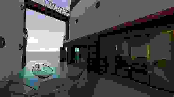 Modern balcony, veranda & terrace by Pangea Arquitectura & diseño Modern