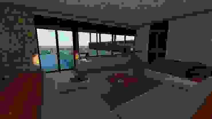 Modern style bedroom by Pangea Arquitectura & diseño Modern
