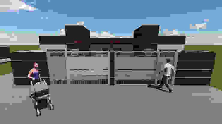 Casas pequenas e modernas. por L2 Arquitetura & Interiores Moderno