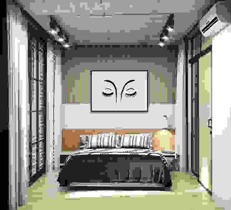 MINIHOUSE BINHTHANH: công nghiệp  by MEG Design Studio, Công nghiệp Đồng / Đồng / Đồng thau