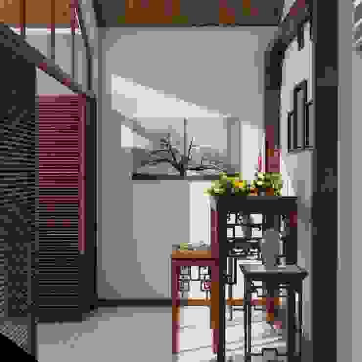 MINIHOUSE BINHTHANH: Châu Á  by MEG Design Studio, Châu Á Đồng / Đồng / Đồng thau