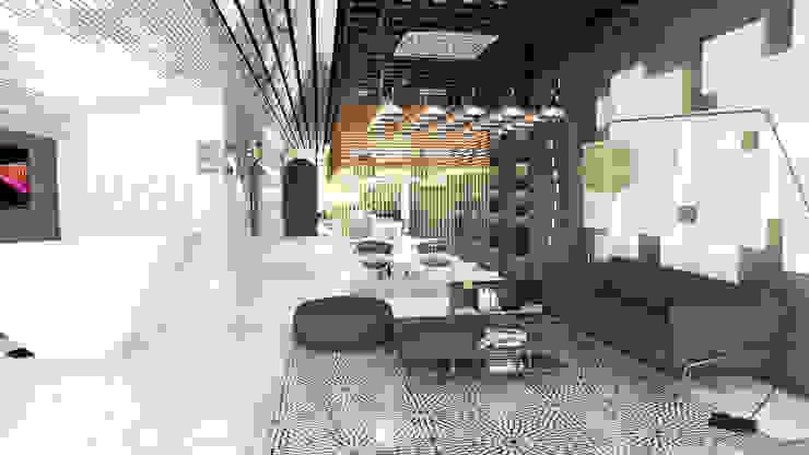 ANHSAO Showroom lighting: hiện đại  by MEG Design Studio, Hiện đại Đồng / Đồng / Đồng thau