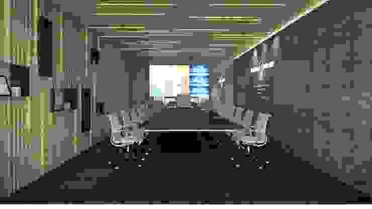 ANHSAO Showroom lighting: hiện đại  by MEG Design Studio, Hiện đại Da Grey