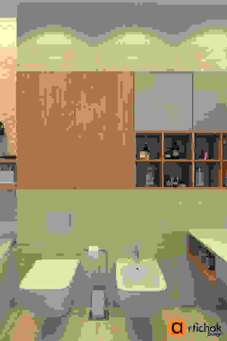 โดย Artichok Design มินิมัล หิน