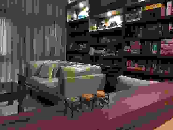 Living Mediterranean style living room by FINE ART LIVING PTE LTD Mediterranean Plywood