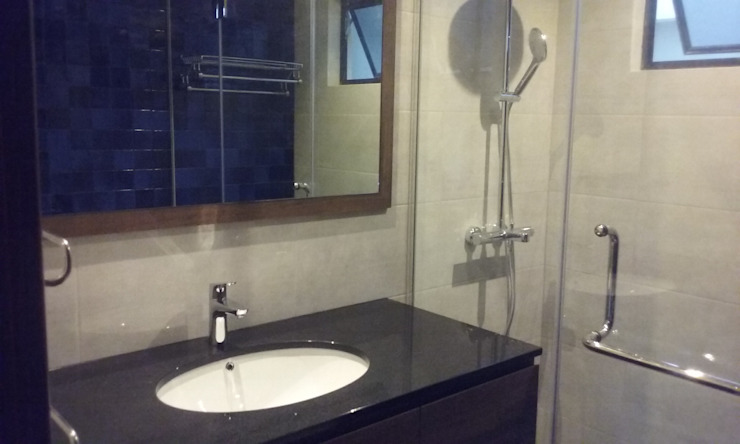 Timeless Design Master Bath Modern bathroom by FINE ART LIVING PTE LTD Modern Ceramic