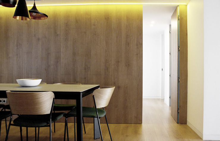 2J Arquitectura Modern walls & floors Wood