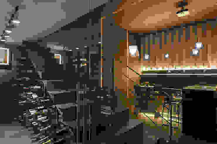 Cava Bodegas modernas de Paola Calzada Arquitectos Moderno Metal