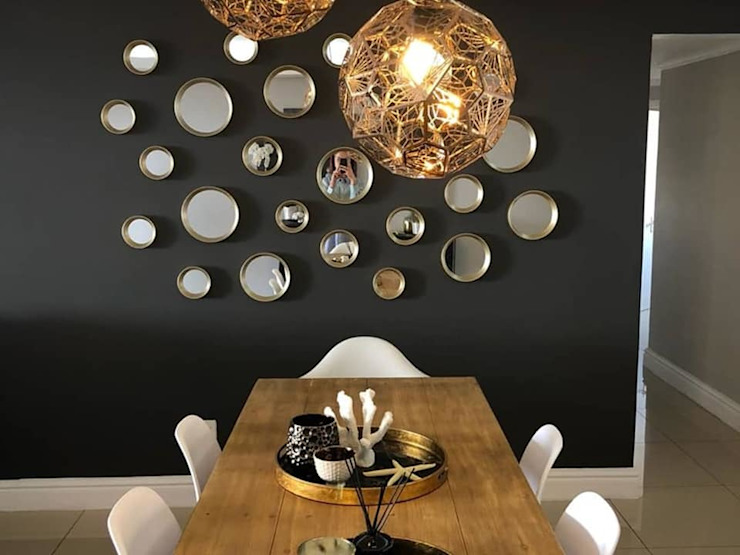 Musgrave Renovation Modern dining room by Adore Design Modern Copper/Bronze/Brass