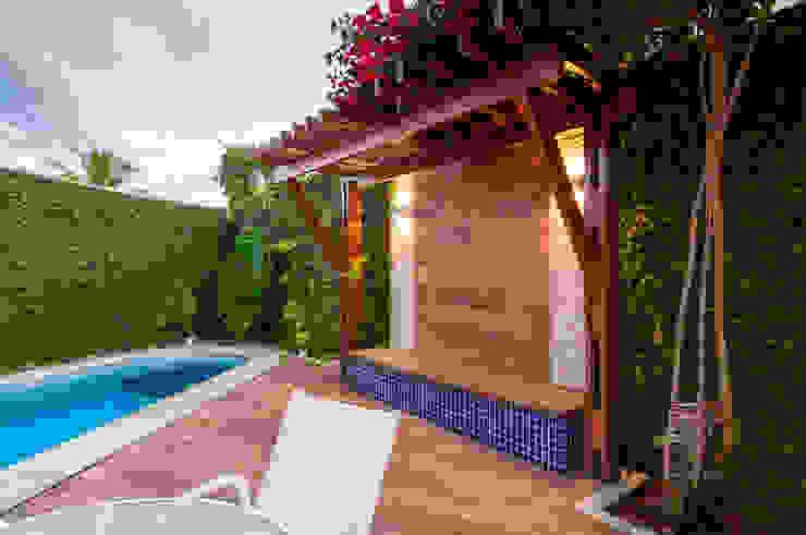 Bernal Projetos - Arquitetos em Salvador Kolam renang halaman