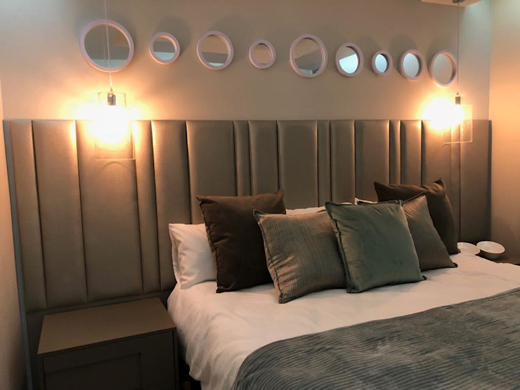 Something Blue at The Pearls of Umhlanga Modern style bedroom by Adore Design Modern