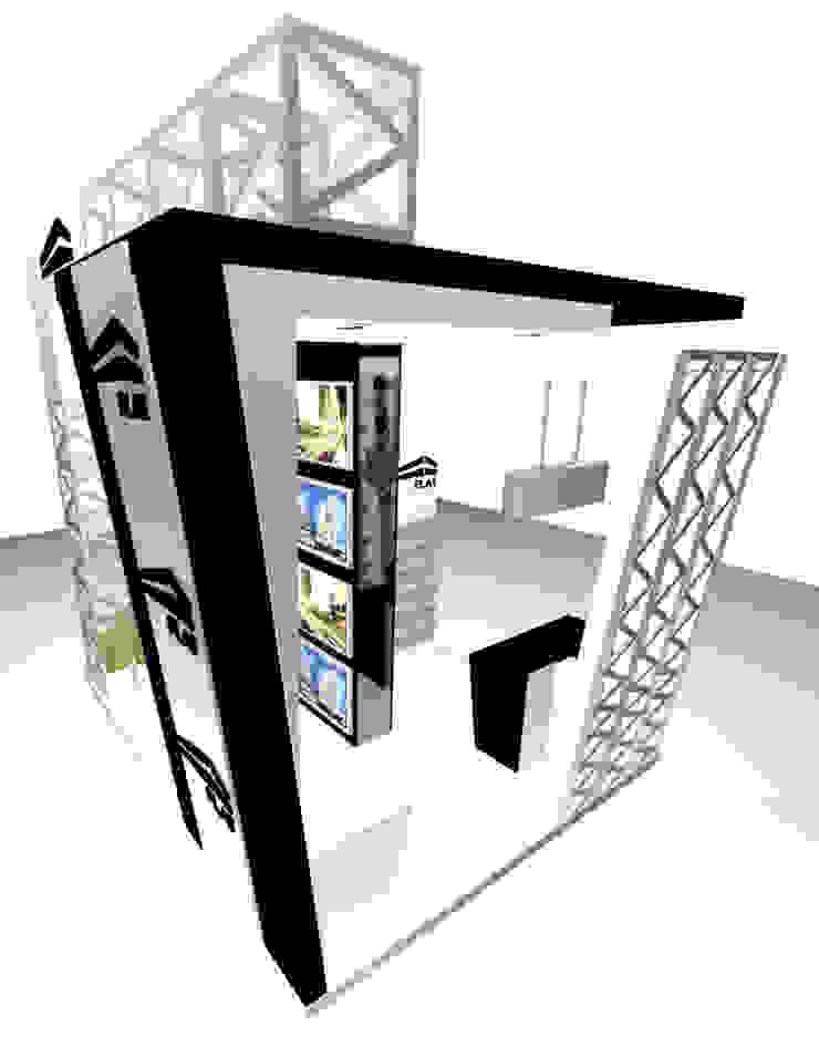 VISTA 2 de Karla Alvarez - Arquitectura de Interiores Moderno Aglomerado