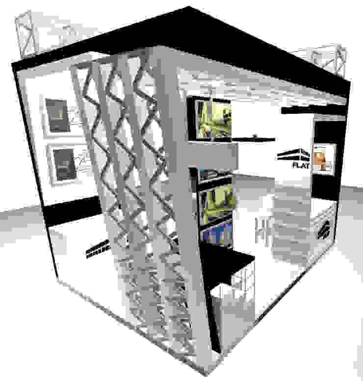 VISTA 3 de Karla Alvarez - Arquitectura de Interiores Moderno Aglomerado