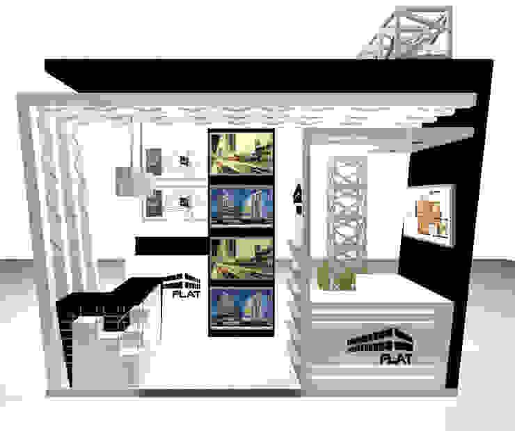 VISTA 4 de Karla Alvarez - Arquitectura de Interiores Moderno Aglomerado
