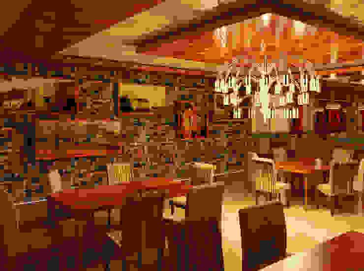 COMEDOR - RESTAURANTE Comedores de estilo ecléctico de Karla Alvarez - Arquitectura de Interiores Ecléctico