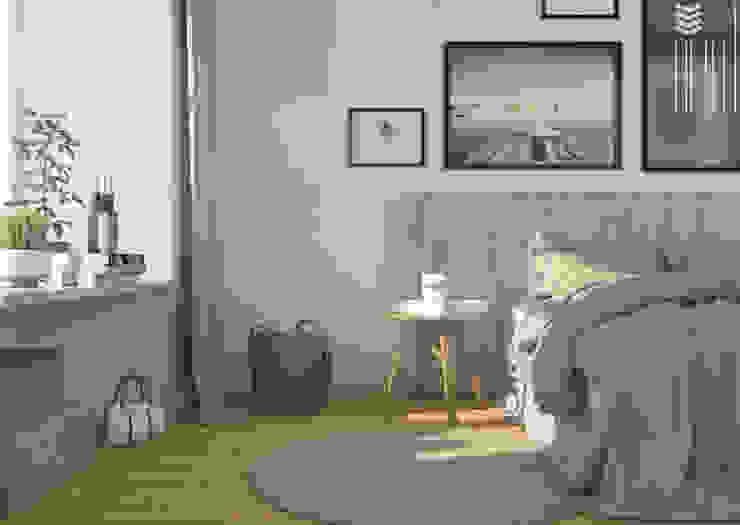 Apartamento Pombalino INTO Studio Quartos escandinavos