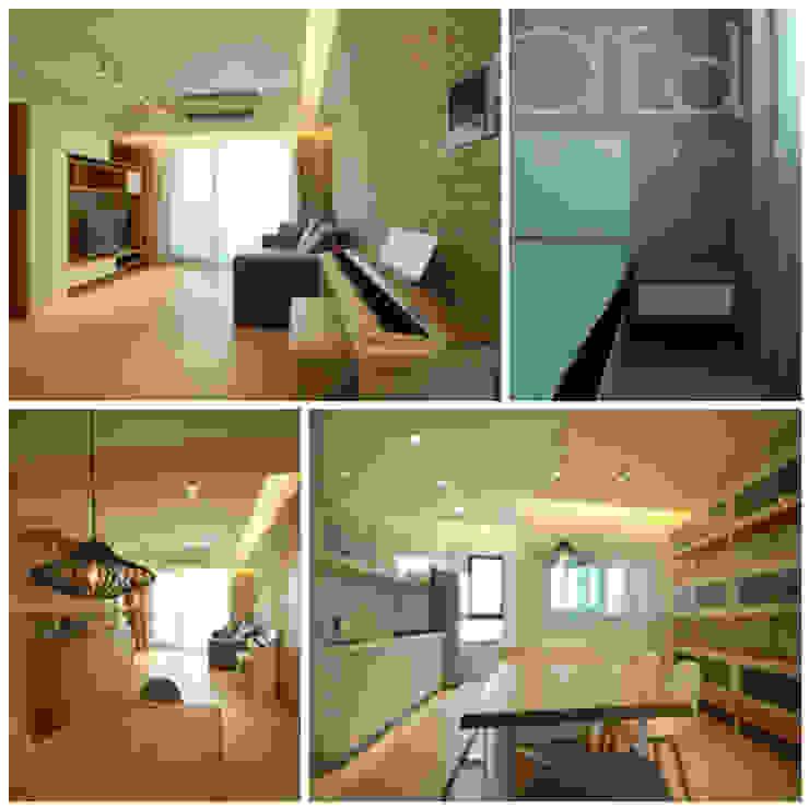 桃園陳公館住宅設計 根據 施平建築師事務所 簡約風
